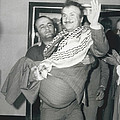 Mayor Of Israeli Occupied Nablus Arrives In London For by Retro Images Archive