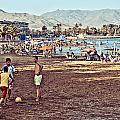 Mazarron Beach - Murcia Spain by Pastor Bello