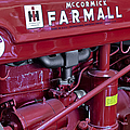 Mc Cormick Farmall Super C by Susan Candelario