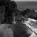Mc Vay Falls In Monochrome  by Chris Berry