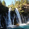 Mcarthur-burney Falls 1 by Debra Thompson
