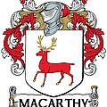Mccarthy Coat Of Arms Cork Ireland by Heraldry