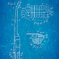 Mccarty Gibson Les Paul Guitar 2 Patent Art 1955 Blueprint by Ian Monk