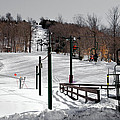 Mccauley Mountain Ski Area Vi- Old Forge New York by David Patterson