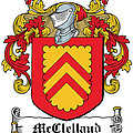 Mcclelland Coat Of Arms Ulster Ireland by Heraldry