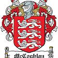 Mccoghlan Coat Of Arms Irish by Heraldry