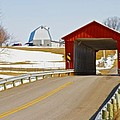 Mccolly Covered Bridge by Jack R Perry