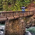 Mcdonald Creek Bridge by Lee Santa