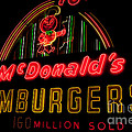 Mcdonalds Sign by Ronald Grogan