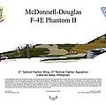 Mcdonnell Douglas F-4e Phantom II by Arthur Eggers