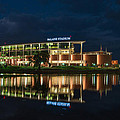 Mclane Stadium At Night by Todd Aaron