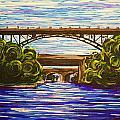 Mcquesten High Level Bridge Hamilton On by Bridget Brummel