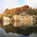 Mead's Quarry In Autumn by Melinda Fawver