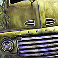 Mean Green Ford Truck by Steven Bateson