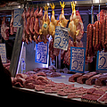 Meat Market    Athens   #6697 by J L Woody Wooden