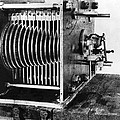 Mechanical Gear Number Sieve by Underwood Archives