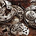 Rusty Watch Mechanism by Daliana Pacuraru