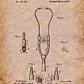 Medical - Heart - 1882 Ford Stethoscope Patent by Barry Jones