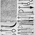 Medical Instruments, 1531 by Granger
