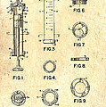 Medical Syringe Patent 1954 by Mountain Dreams