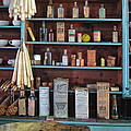 Medicinals In An Old General Store by Dave Mills