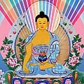 Medicine Buddha 1 by Jeelan Clark