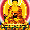 Medicine Buddha 10 by Jeelan Clark