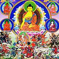 Medicine Buddha 12 by Jeelan Clark