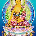 Medicine Buddha 7 by Jeelan Clark