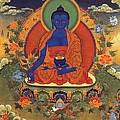 Medicine Buddha 8 by Jeelan Clark