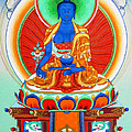 Medicine Buddha 9 by Jeelan Clark