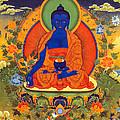Medicine Buddha by Jeelan Clark