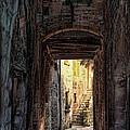 Medieval Alley by Joan  Minchak