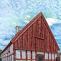 Medieval Building by Antony McAulay