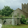 Medieval Church And Churchyard by Unknown