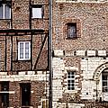 Medieval Houses In Albi France by Elena Elisseeva