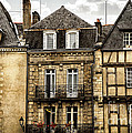 Medieval Houses In Vannes by Elena Elisseeva