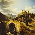 Medieval Landscape by Gonsalvo Carelli