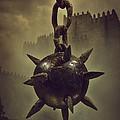Medieval Spike Ball  by Carlos Caetano