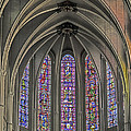 Medieval Stained Glass by Elvis Vaughn