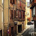 Medieval Street In Albi France by Elena Elisseeva