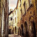 Medieval Street In Perigueux by Elena Elisseeva