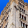 Medieval Tower by Valentino Visentini