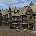 Medieval Town Square by Fairy Fantasies
