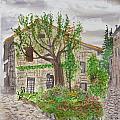 Medieval Village In France 2012 by Janine Boyer
