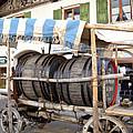 Medieval Wagon Used For Transporting Wine by Elzbieta Fazel