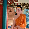 Meditating Buddha In Lotus Position by Imran Ahmed