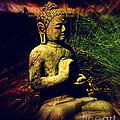 Meditating Buddha by Susanne Van Hulst