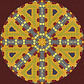 Meditating On Life - Mandala