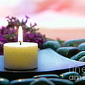 Meditation Candle by Olivier Le Queinec